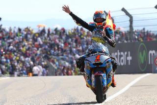 Rabat wins Aragon 2015 Moto2
