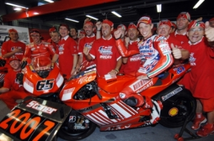 Stoner won the title with Ducati back in 2007. Photo: Ducati Course