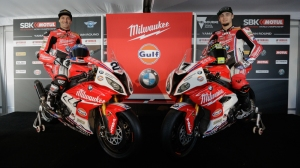 Milwaukee BMW launch WSBK campaign. Photo: worldsbk.com