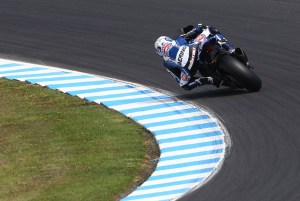 Guintoli in control at his favourite track Photo: Pata Yamaha