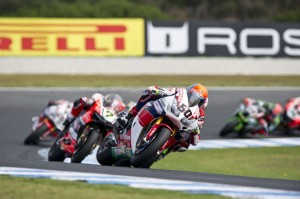 VDM had a perfect start to 2016 Photo: Honda WSBK