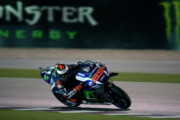 Lorenzo flew to pole in Qatar. Photo: Yamaha MotoGP