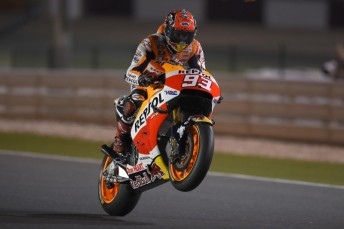 Marquez was happy with his pace. Photo: Repsol Honda
