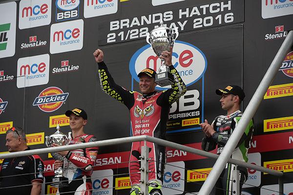 MCE Insurance British Superbike Championship Podium