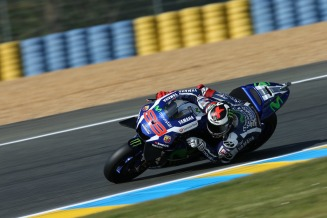 Lorenzo race day